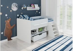 <span>Детская кровать  </span>Легенда 6 белая